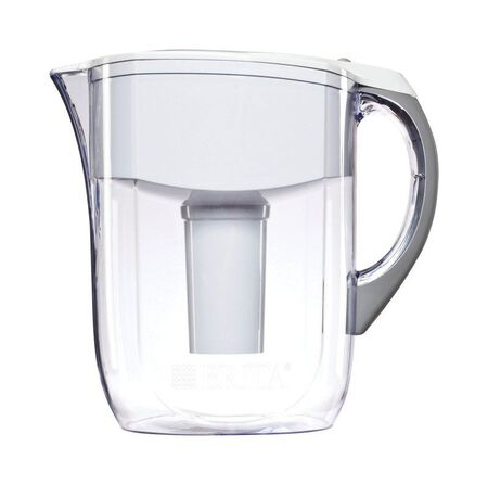 Brita Grand White 10 cups Water Filtration Pitcher