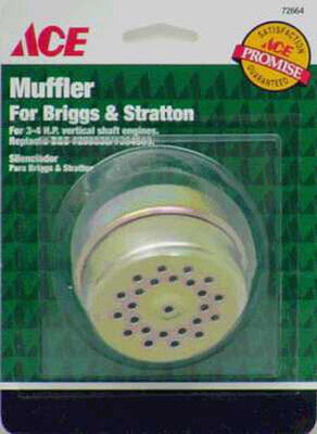 Ace Muffler For 2-4 HP Tecumseh & Clinton Engines 2-4 HP B&S