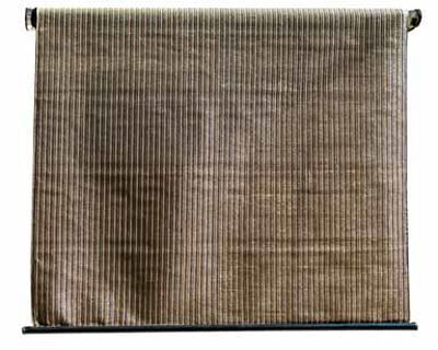 Coolaroo 72 ft. H x 72 in. L x 6 ft. W Brown Select Series Roll-Up Exterior Window Shade