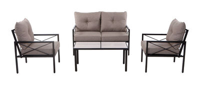 Living Accents 4 pc. Harrison Dining Patio Set Beige