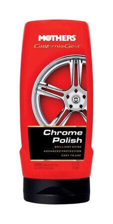 Mothers California Gold Liquid Automobile Polish 12 oz. For Chrome