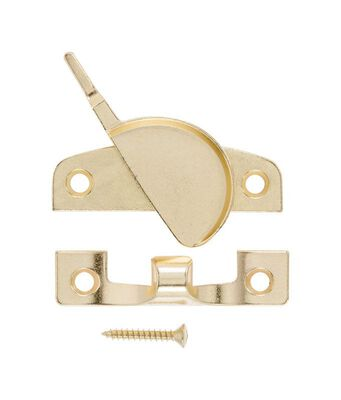 Ace Bright Brass Brass Narrow Sash Lock Bright Brass 1