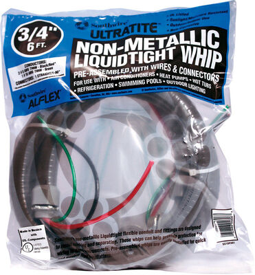 Southwire Cable Whip 3/4 in. x 6 ft. 8 Ga 2 Conductor 6 ft.