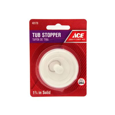 Ace 1-3/4 in. Dia. Tub Stopper Brass Nickel Plated