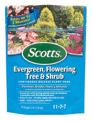 Scotts Evergreen Flowering Tree & Shrub Plant Food For Acid Loving Plants 3 lb.