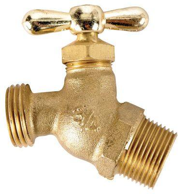 B & K Mueller 3/4 in. MIP Dia. x 3/4 in. Dia. Hose Brass Faucet