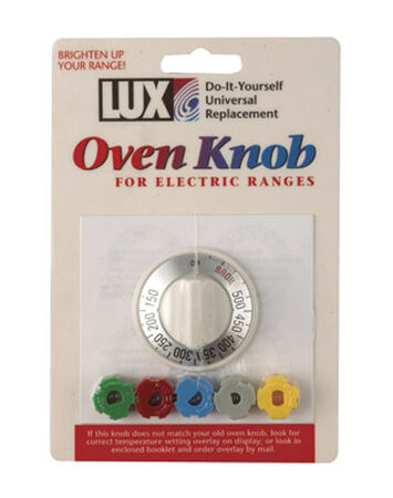 Lux Oven Knob for Electric Ranges