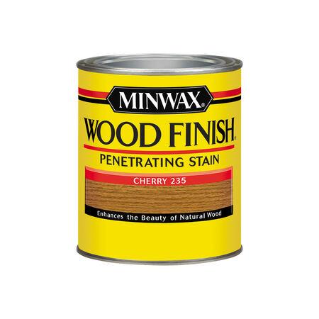 Minwax Wood Finish Semi-Transparent Cherry Oil-Based Oil Stain 1 qt.