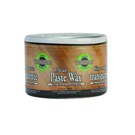 Trewax Clear Paste Wax Floor Wax 16 oz.