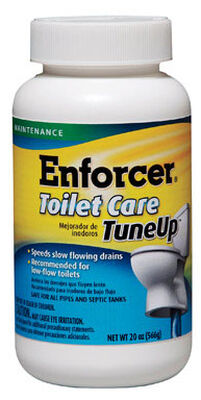 Enforcer Toilet Care Tune Up Granular Drain Cleaner 20 oz.