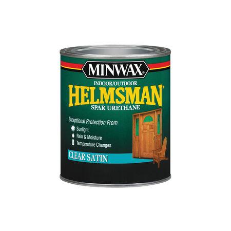 Minwax Helmsman Satin Clear Spar Urethane 1 qt.