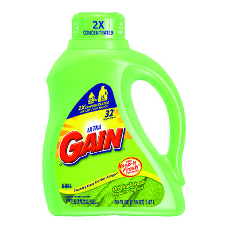 Gain Fresh Scent Laundry Detergent 50 oz.