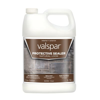 Valspar Waterproof Transparent Natural Sealer 1 gal.