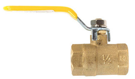 Mueller Ball Valve 1/2 in. FPT Brass Packing Gland