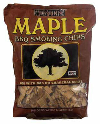 Western Maple Wood Smoking Chips 2 lb.