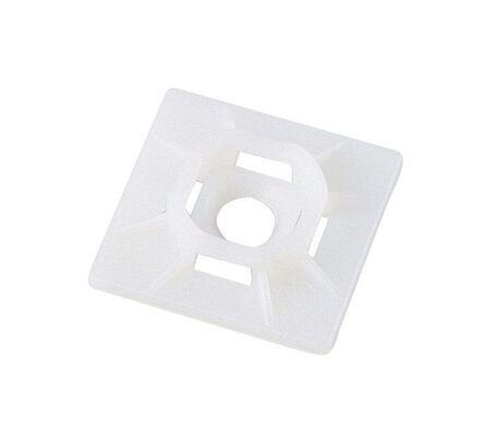 Gardner Bender White Cable Tie Mounting Base 5 pk