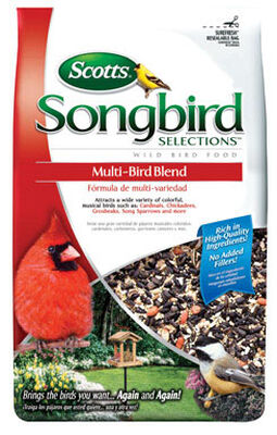 Audubon Park Songbird Assorted Species Wild Bird Food Millet 5 lb.