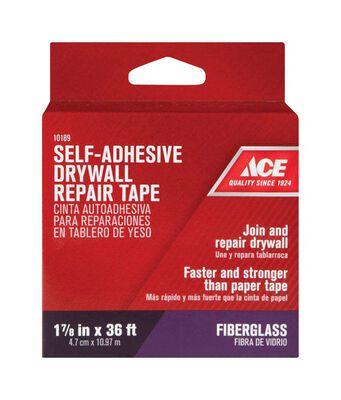 Ace Wall Repair Tape Fiberglass Self Adhesive 1-7/8 in. W x 36 ft. L