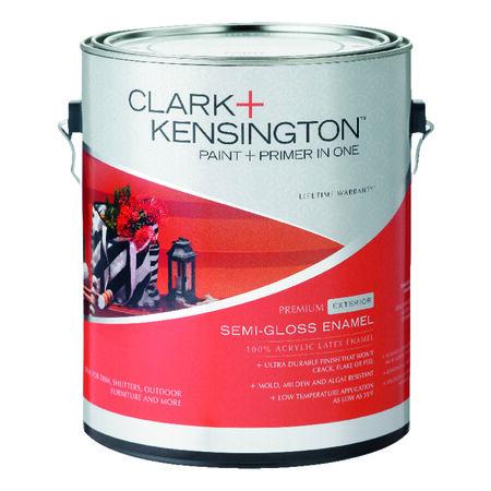 Ace Clark+Kensington Semi-Gloss Midtone Hi-Hide Base Acrylic Latex House/Trim Paint Outdoor 1