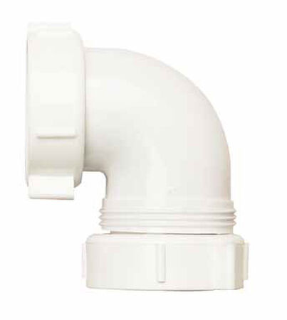 Ace 1-1/2 in. Dia. x 1-1/2 in. Dia. IPS To IPS Plastic Elbow