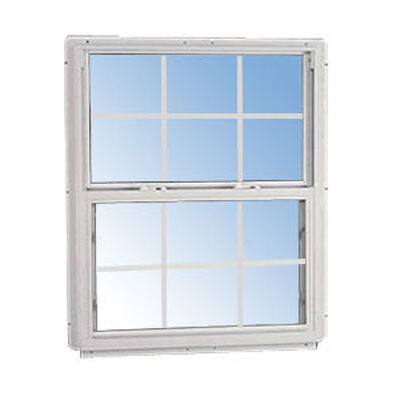 Window 2ft 8in X 3ft 0in 6/6 S96 White E-low
