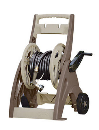 Suncast Hosemobile Wheeled Hose Cart 175 ft. Brown/Tan