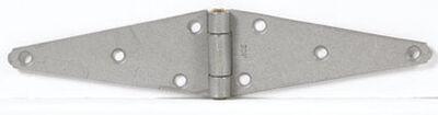 Ace Steel Heavy Duty Strap Hinge 6 in. L Galvanized 2 pk