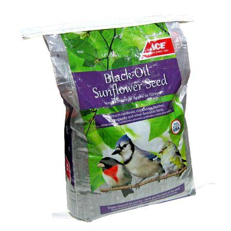 Ace Nuthatch Wild Bird Food Black Oil Sunflower Seed 40 lb.