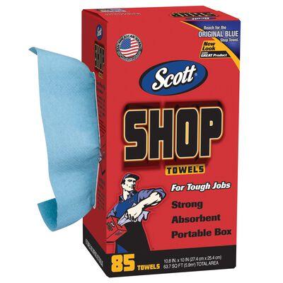 Scott Paper Shop Towels 10.4 in. W x 11 in. L 85 pk