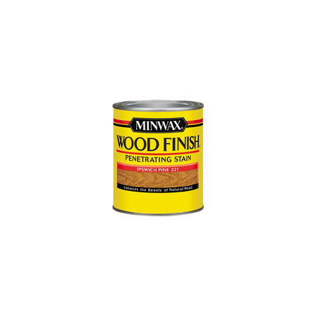 Minwax Wood Finish Semi-Transparent Ipswich Pine Oil-Based Wood Stain 0.5 pt.