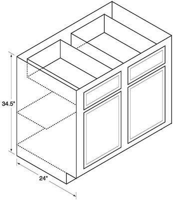 Glenwood Kitchen Base Cabinet 33B