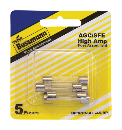 Bussmann 30 amps AGC Automotive Fuse Assortment 6 pk