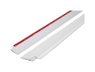 M-D Building Products Door Bottom Aluminum Weather Stripping 3 ft. L White
