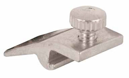 Prime-Line 1/2 in. Aluminum 1 in. L Storm Door Panel Clip 8