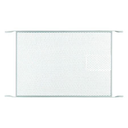M-D Building Products Bottom mount Door Grille White 1 pk