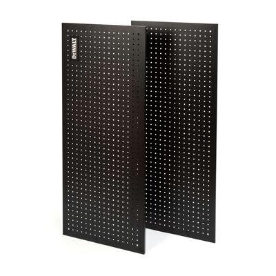 Dewalt 2-Piece metal pegboard kit for industrial storage rack