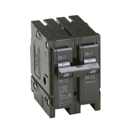 Eaton HomeLine Double Pole 20 amps Circuit Breaker