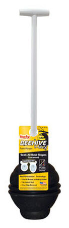Korky Beehive 25 in. L x 5 in. Dia. Toilet Plunger