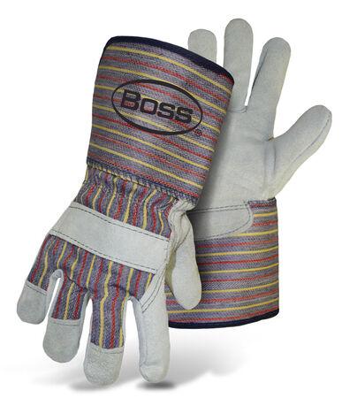 Glove Leather Split Palm L w/