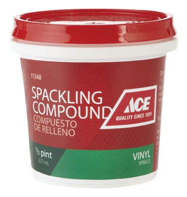 Ace Vinyl Ready to Use Spackling Compound 1/2 pt.