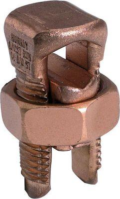 Burndy Servit Split Bolt Connector Silver 3/4 in. Dia. 5 pk