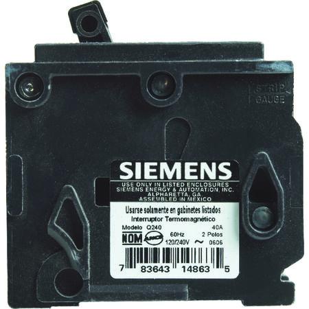 Siemens HomeLine Double Pole 40 amps Circuit Breaker