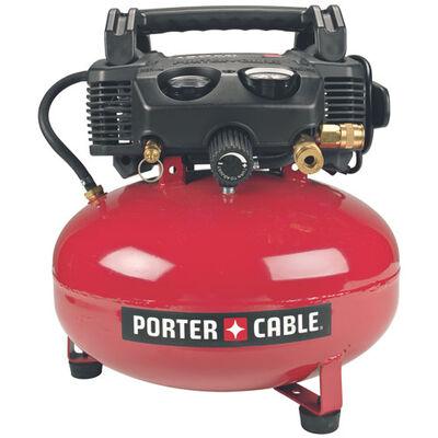 150 psi, 6 gal Oil-Free Pancake Compressor