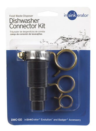 InSinkErator Dishwasher Connector Black