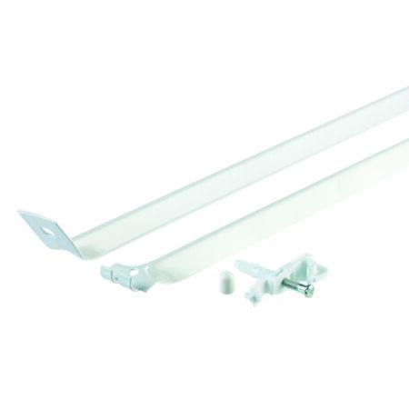 Rubbermaid 12 in. L Closet Hardware White
