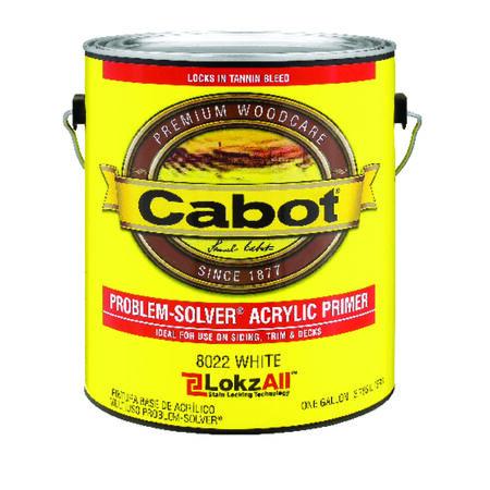 Cabot Problem-Solver White Acrylic Primer 1 gal.