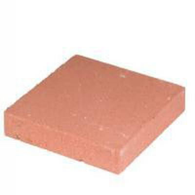 Step Stone Square Red 16""