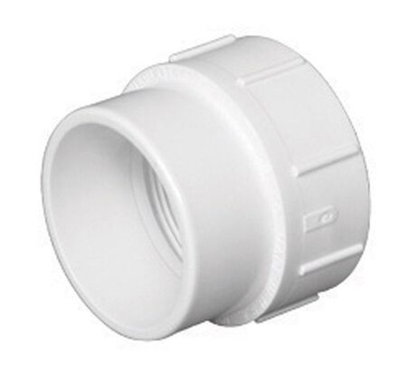 Charlotte Pipe 2 in. Spigot x 2 in. Dia. FPT Pipe Adapter