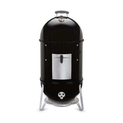 Weber Smokey Mountain Cooker 18 inch Charcoal 41 in. H Smoker Black