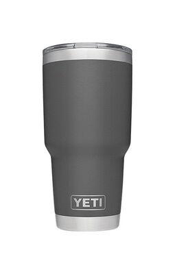 YETI Rambler Charcoal Stainless Steel Insulated Tumbler BPA Free 30 oz.
